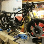 RD frame and motor